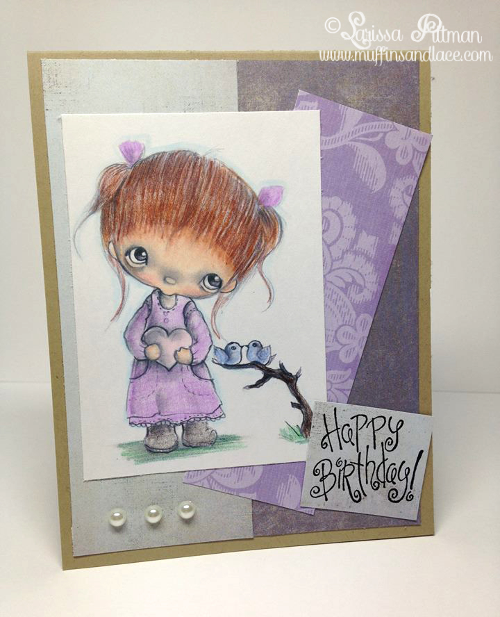Designed by Larissa Pittman of Muffins and Lace for Incy Wincy Designs Guest Spot January using Ppinky Dolls Digi