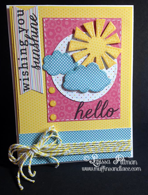 Designed by Larissa Pittman for Reverse Confetti July Sketch card
