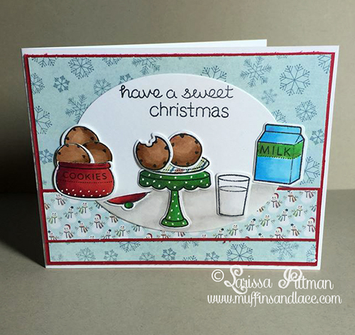 Created by Larissa Pittman 2015 Christmas Card Series card #8