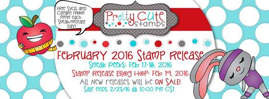 February Pretty Cute Stamps Sneak Peek