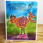 Created by Larissa Pittman of Muffins and Lace using Put a Bird On it stamp set