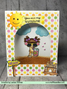 Handmade-Card-Created-by-Larissa-Pittman-of-Muffins-and-Lace-using-Craftin-Desert-Divas-Beacj-Bound-Stamp-Set-You-are-my-Sunshine-Card