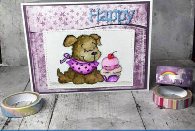 Handmade-Card-creating-by-Larissa-Pittman-for-June-Release-for-Whimsy-Stamps-using-Doggie-IceCream